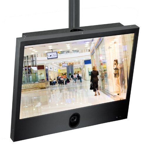 Ganz ZM-L22PD 22-inch High Resolution Color Public Display Monitor with 480 TVL WDR camera and 2.8-11mm lens