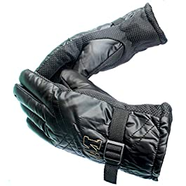 AlexVyan Warm Winter Riding Gloves -20 Temperature Snow proof Protective Gloves for Men, Boys, Male Universal Size…