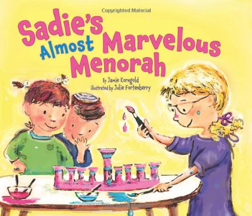 Sadie's Almost Marvelous Menorah (Hanukkah) by Brand: Kar-Ben Publishing (Image #3)