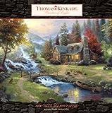 : Ceaco Thomas Kinkade 1000 Piece Puzzle - Mountain Paradise