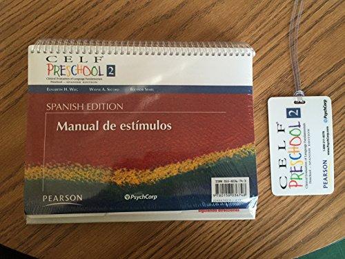 Celf Preschool-2 Spanish Edition