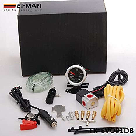 Amazon.com: EPMAN Turbo Manual Boost Controller Dual Stage Upgrade Kit With Gauge (Black): Automotive
