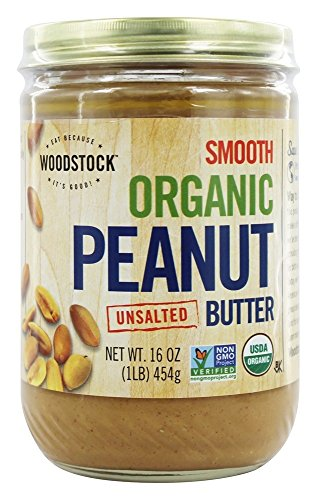 - Woodstock Farms - Organic Peanut Butter Smooth Unsalted - 16 oz.