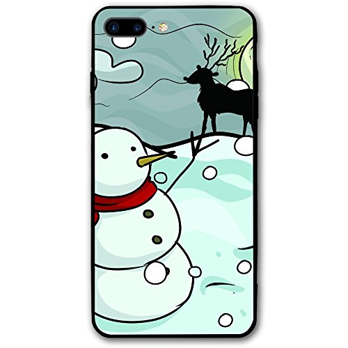 Painting Christmas Decoration Scene IPhone 7 Plus/8 Plus IPhone 7/8 Plus Shockproof Case Skin Fits 5.5