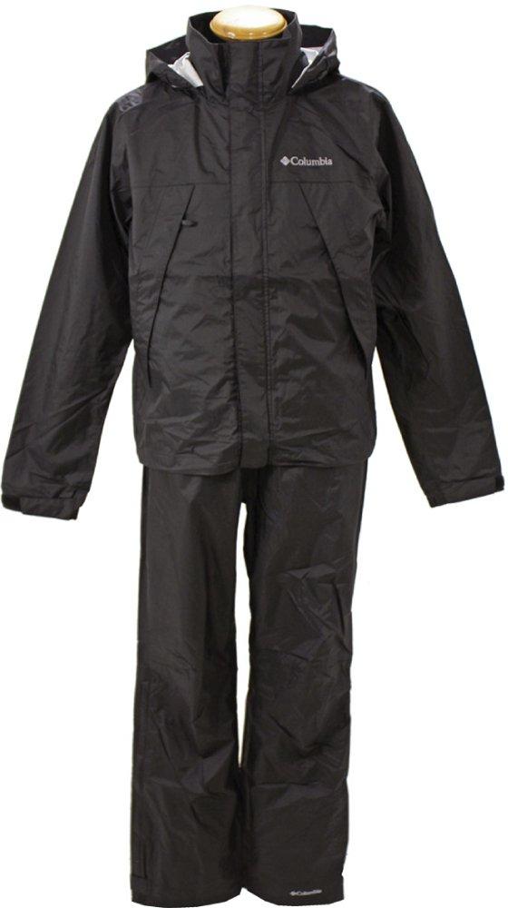 コロンビア(Columbia) シンプソンサンクチュアリレインスーツ(SIMPSON SANCTUARY RAINSUIT) PM0124 B06W9DTV3R XL|Black(010) Black(010) XL