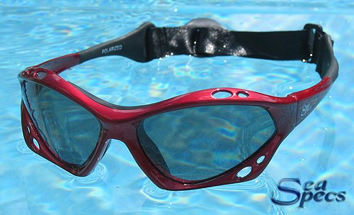 SeaSpecs SunFire Red Extreme Sea Specs Sunglasses