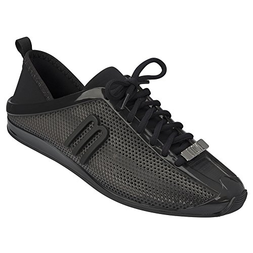 Melissa Mujeres Love System Sneakers Black / Grey