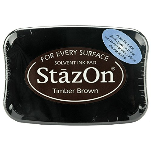 StazOn Color Ink Pad Color: Timber Brown