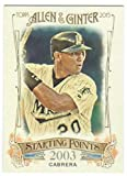 2015 Topps Allen and Ginter Starting Points SP-27 Miguel Cabrera NM to Mint or Better