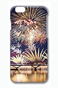 Brian114 6 Case, iPhone 6 Case - Attractive 3D Print Pattern iPhone 6 Covers Amazing Firework Cute Perfect Fit Cases for iPhone 6