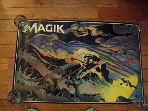 Rare Magik Marvel Comics Michael Kaluta Poster 1987 33 X 22 ()