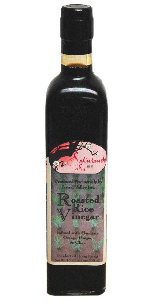 Sakurauchi Sa Roasted Rice Vinegar, 16.9 Ounce