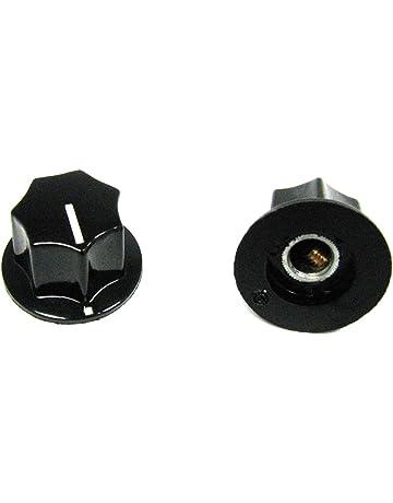 2-pack Guitar Potentiometer Knobs: Black