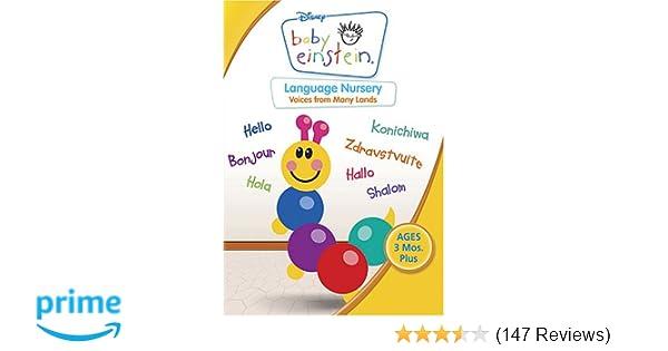 Amazon com: Baby Einstein - Language Nursery: Julie Aigner