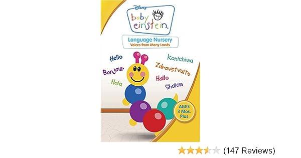 Amazon Baby Einstein Language Nursery Julie Aigner