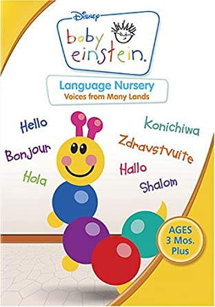 752b1bc849 Amazon.com  Baby Einstein - Language Nursery  Baby Einstein