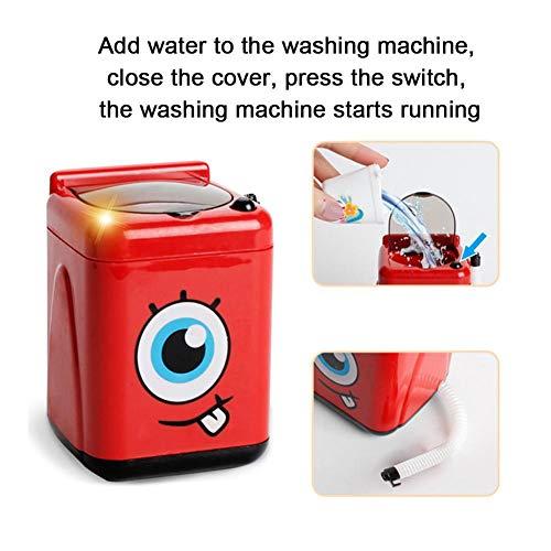 Simulation Washing Machine, Durable Multifunctional Small Intelligence Toy Simulation Small Household Appliances, for Children Kids(Washing Machine) 51hFZchK1nL India 2021