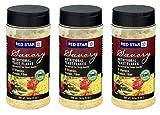 Red Star Yeast Flake Nutritional Shaker Jar, 5 oz (Pack of 3)