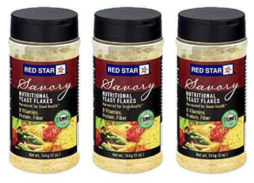 Red Star Yeast Flake Nutritional Shaker Jar, 5 oz (Pack of 3) by Red Star (Image #5)