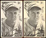 1936 Goudey R314 wide pen type 1 (Baseball) Card# 78 terry moore/portrait of the St. Louis Cardinals VGX Condition