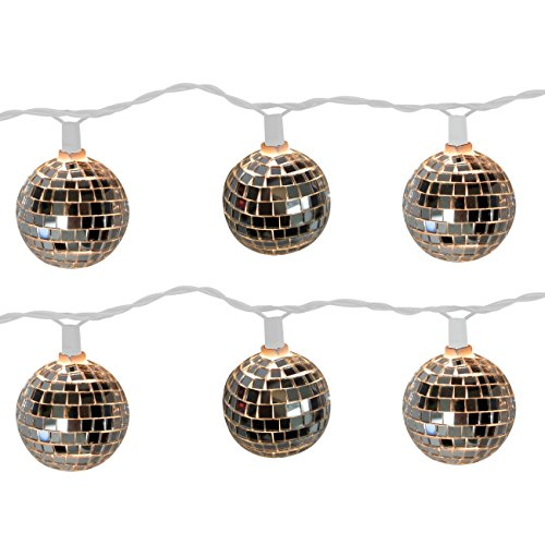 Brite Star 10 Count Disco Ball Light Set -