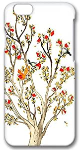 Iphone 6 (PC) Case,Iphone 6 Cases ,Tree two birds Custom Iphone 6(4.7)High-grade PC Cases