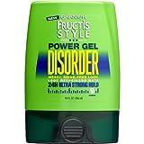 Garnier Fructis Style Disorder Power Gel, 24H Ultra Strong Hold 9 oz (Pack of 6)