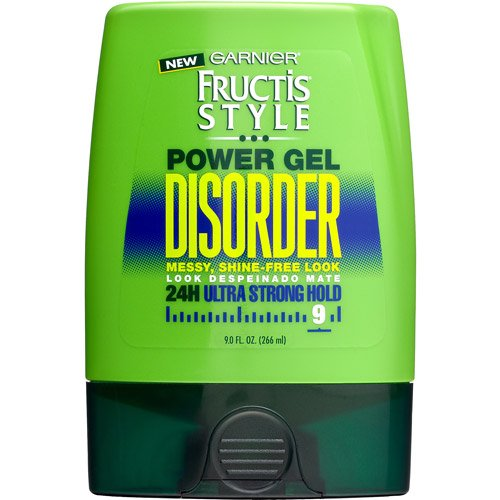 Garnier Fructis Style Disorder Power Gel, 24H Ultra Strong Hold 9 oz (Pack of 6) by Garnier