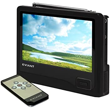 Eviant T4 4.3 Portable Color Digital ATSC NTSC LCD TV DTV