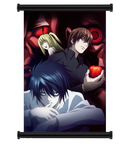 Death Note Anime Fabric Wall Scroll Poster (16x24) Inches. [WP]-Death Note-13