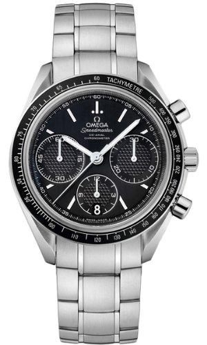 Watch Wrist Automatic Omega (Omega Speedmaster Racing Automatic Chronograph Black Dial Stainless Steel Mens Watch 326.30.40.50.01.001)