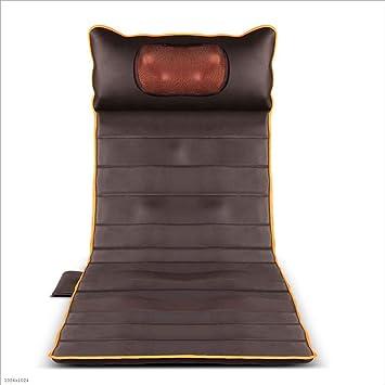 El masajeador Cervical Que calienta la Silla de la vibración del hogar del colchón eléctrico Multifuncional Trasero de la Silla (175 * 61cm): Amazon.es: ...