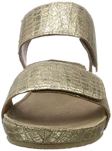 cashott A17112 - Mules Mujer Gold (Cocco Gold 190)
