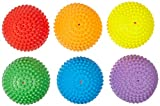 Abilitations Tactile Step-N-Stones Walk-On Domes - Set of 6 - 6 Colors