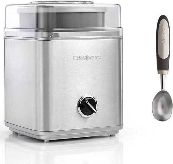 Cuisinart - Sorbetière - Turbina de helado para helado con cuchara ...