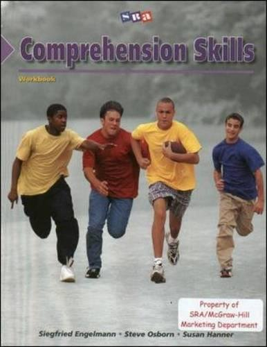 Corrective Reading Comprehension Level B1, Student Workbook (CORRECTIVE READING COMPREHENSION SERIES) (A Man For All Seasons Full Text)