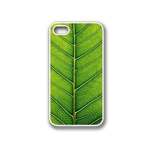 Fresh Green Leaf White iPhone 4 Case - Fits iPhone 4 & iPhone 4S