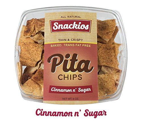 - Snackios Pita Chips (Cinnamon & Sugar) 4 - Pack