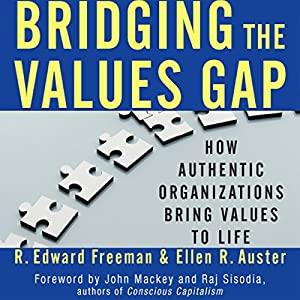 Bridging the Values Gap Audiobook