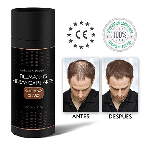 🥇 Tillmann's Fibras Capilares Castaño Claro 27