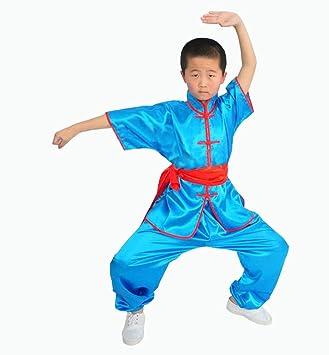 ZooBoo Kids' & Adult Chinese Traditional Wushu Tai Chi Costume Martial Arts  Uniforms