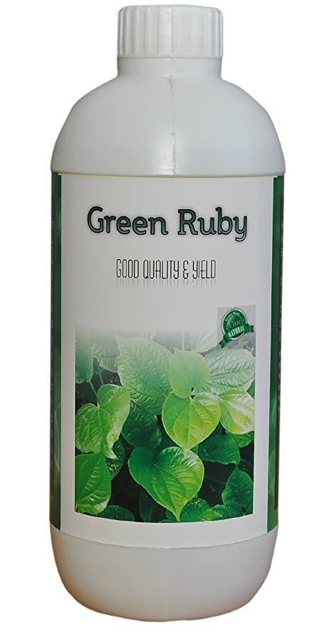 Green Ruby - Bio Enhancer - Plant Gowth Promoter with Humic Acid ...