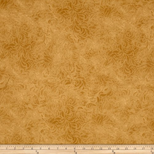 110in Wide Quilt Back Bella Suede Mustard Fabric By The Yard -  P & B Textiles, BELW-460-LX