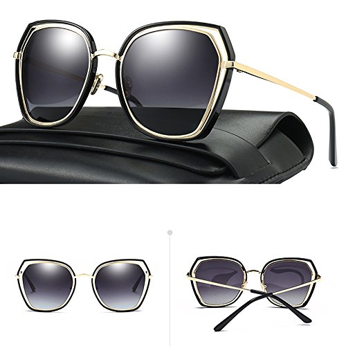 Glasses Cat Classic Eye 03 de Gafas Espejo sol ZHIRONG Moda Color Women 05 Twin Beams Metal Frame w4aOPq7ad