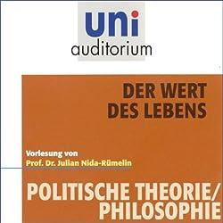Der Wert des Lebens (Uni-Auditorium)