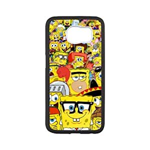 WJHSSB SpongeBob Phone Case For Samsung Galaxy S6 G9200 [Pattern-4]