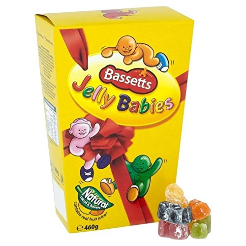 - Bassetts Jelly Babies Carton 460g - Pack of 2