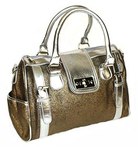 Poplife Women's Doctors Satchel Handbag Shoulder Strap Purse
