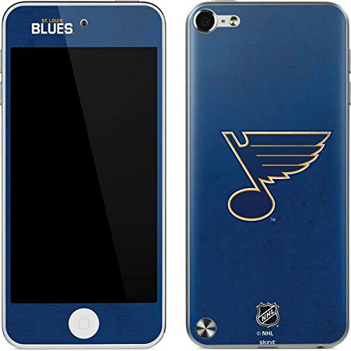 NHL St. Louis Blues iPod Touch (5th Gen&2012) Skin - St. Louis Blues Distressed Vinyl Decal Skin For Your iPod Touch (5th - Louis Ipod Skin Blues