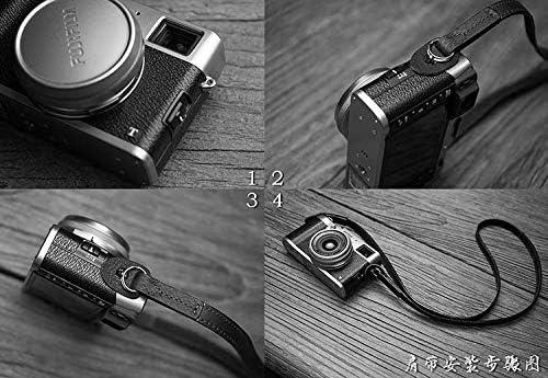 Mr.stone Handmade Genuine Leather Camera Wrist Strap(WJE003)